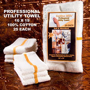 Professional Utility Towels 16x19 25 each